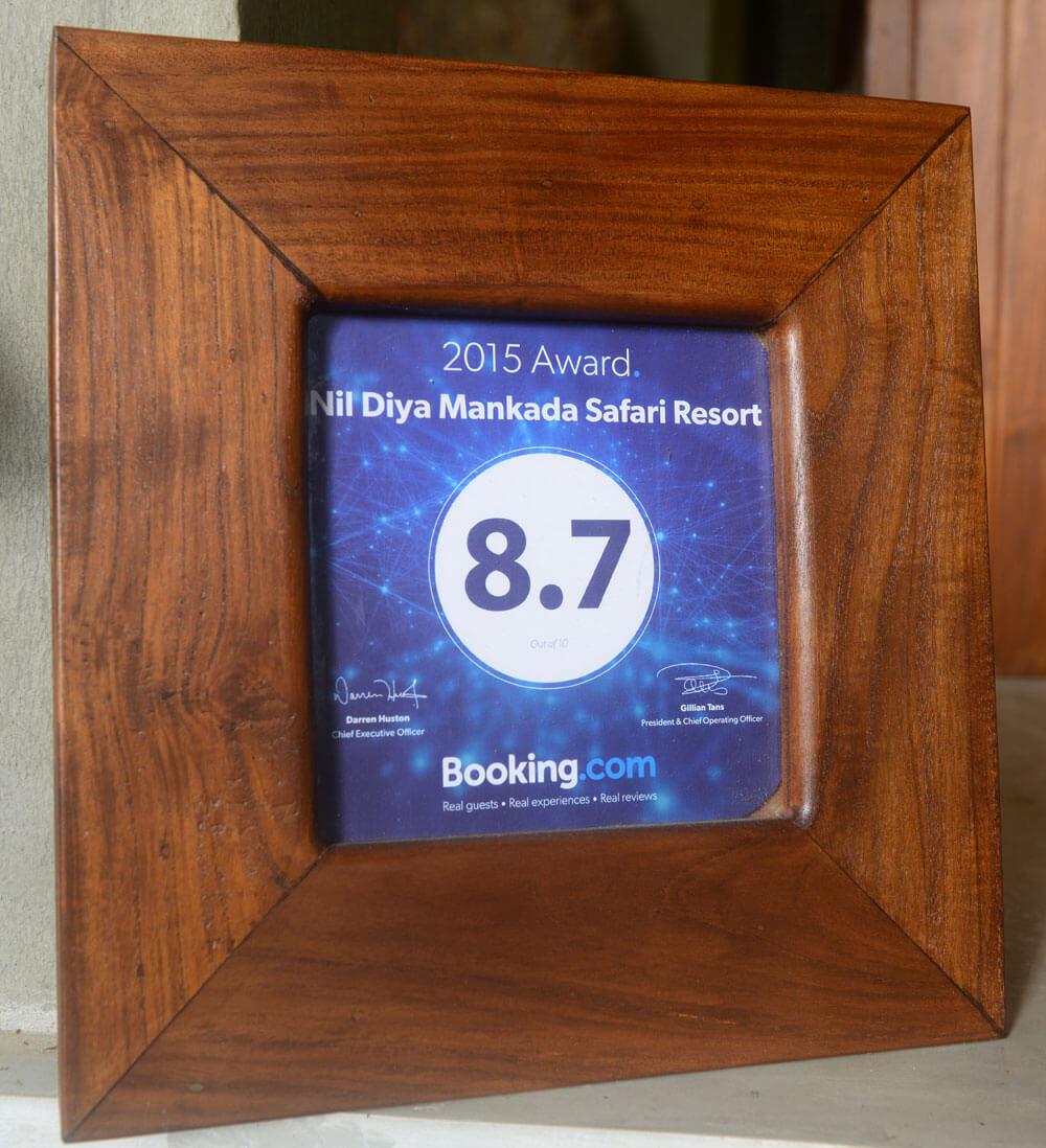 hotel ratings - Booking.com 8.7 Rated Nil Diya Mankada Udawalawe Hotel
